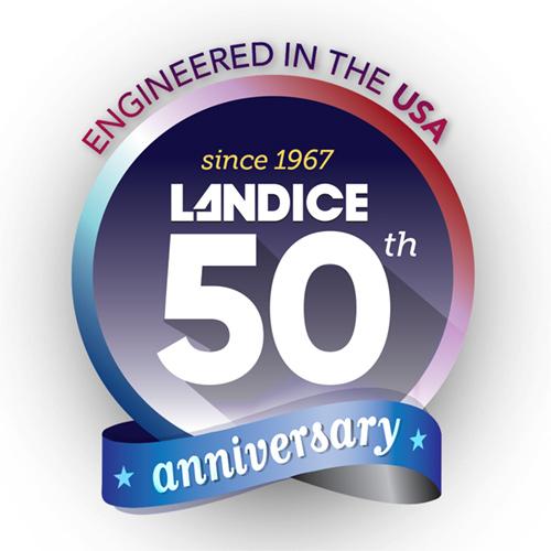 Landice Anniversary Logo