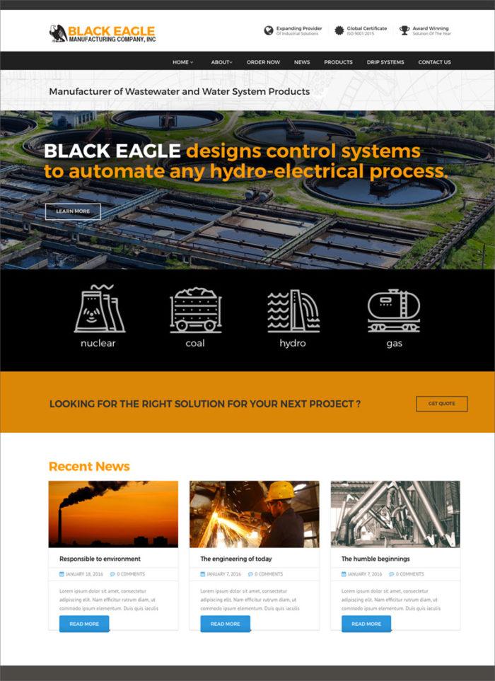 Black Eagle Website