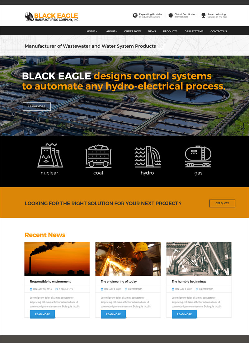 Black Eagle Website