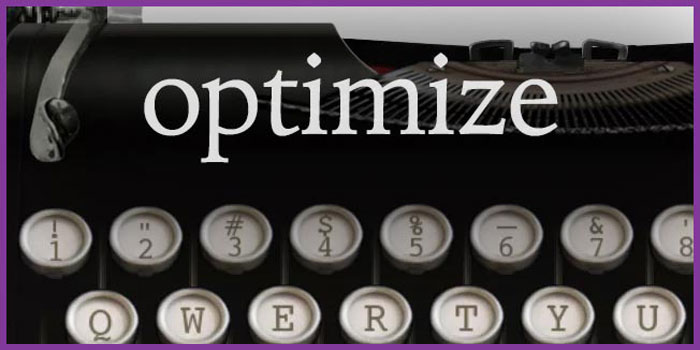 optimize keywords blog post